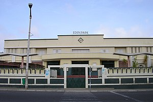 Cinema of Cape Verde - Eden Park, the first picture house and cinema in Cape Verde