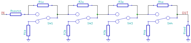 File Circuit Diagram Of Logarithmic Ladder Da Converter  Mar 2012 Png