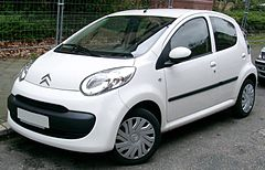 Citroën C1 przed liftingiem