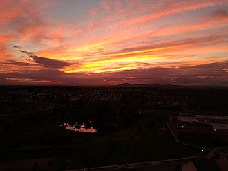 Clarksburg, Maryland - Clarksburg, Maryland at dusk.