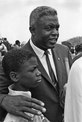 Civil Rights March on Washington, D.C. (Former National Baseball League player, Jackie Robinson with his son.) - NARA - 542024.tif