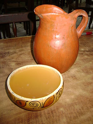 "Piura Region - Clarito served in a bowl known as ""poto"". Catacaos, Peru."
