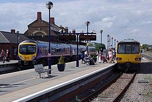 Cleethorpes railway station - Cleethorpes railway station in 2012