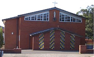 Clemton Park, New South Wales - St Bernadette's Catholic Church, Bexley Road and William Street intersection