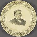 Cleveland Ceramic Portrait Plate, ca. 1884 (4359458951).jpg