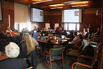Climate at the National Academies Wikipedia Edit-a-thon 3030.jpg