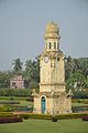 Clock Tower - Hazarduari Complex - Nizamat Fort Campus - Murshidabad 2017-03-28 6374.JPG