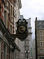 Clock in Southampton Street WC2 - geograph.org.uk - 1276671.jpg