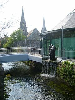 Clonakilty Town in Munster, Ireland