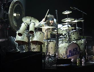 Tommy Clufetos - Clufetos performing with Black Sabbath in Birmingham, 2017
