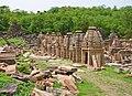 Cluster of shrines at Batesar.jpg