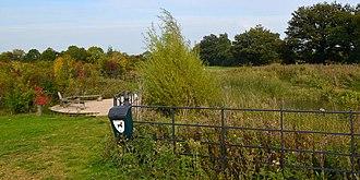 Coton, Cambridgeshire - Coton Countryside Reserve pond