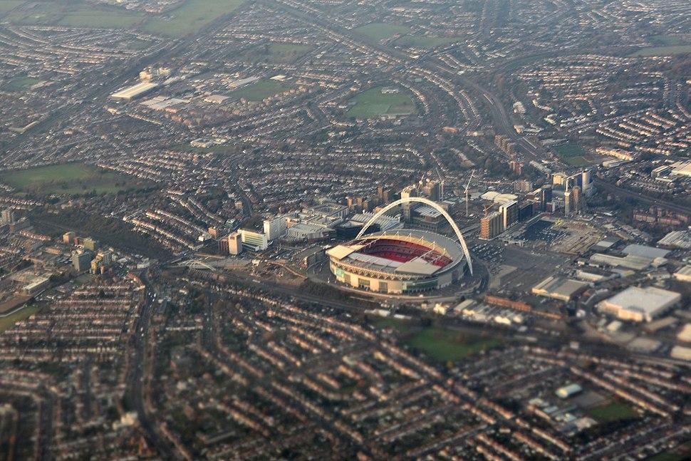 Cmglee London Wembley aerial