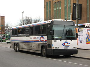 Coach USA Short Line Bus/Transport of Rockland...
