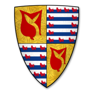 Reginald Grey, 3rd Baron Grey de Ruthyn - Arms of Hastings, Earls of Pembroke: Hastings quartering Valence
