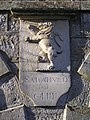 Coat of arms, Kiltyclogher Courthouse - geograph.org.uk - 1119083.jpg