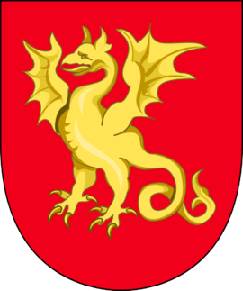 Old coat of arms of Bornholm. Coat of arms of Bornholm.png