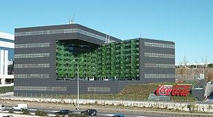 Officine di Coca-Cola a Madrid (Spagna).