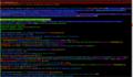 CodeMirror with personal dark-style on frwiki page Élection présidentielle française de 2007.png