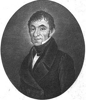 Salomon Jacob Cohen - Salomon Jacob Cohen, bookplate from his collection of poetry, Nir David, Vienna, 1834.