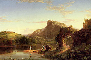 L'Allegro - L'Allegro by Thomas Cole