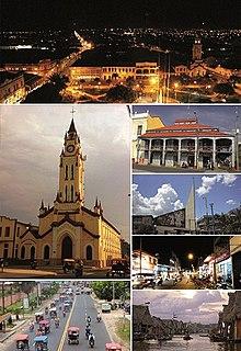 Iquitos City in Loreto, Peru