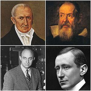 Collage scienziati italiani