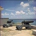 Collectie Nationaal Museum van Wereldculturen TM-20029745 Kanonnen op Fort Kralendijk Kralendijk Boy Lawson (Fotograaf).jpg