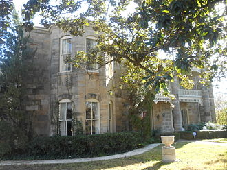 Gonzales, Texas - The old Gonzales College at 820 St. Louis St. is now a private residence.