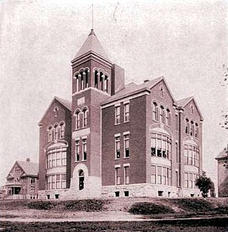 Lexington Theological Seminary - Photo of Lexington Theological Seminary (then College of the Bible), 1904