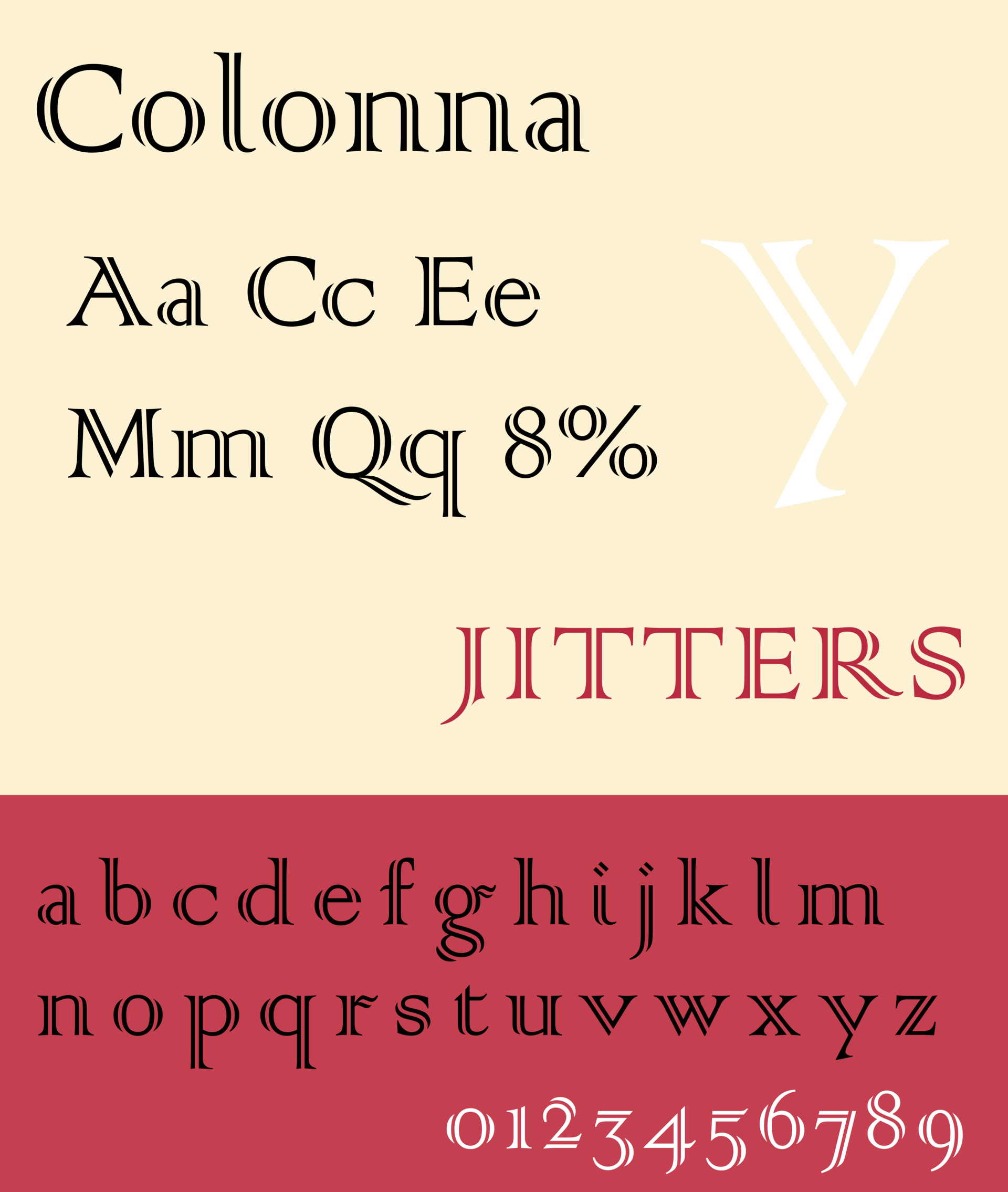 colonna typeface wikipedia