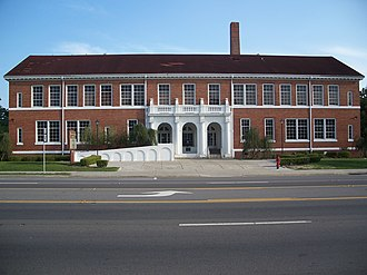 Columbia County, Florida - The former Columbia County High School serves as the district headquarters