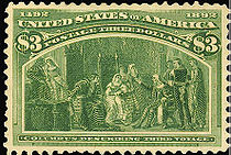 Columbus Describing Third Voyage, $3