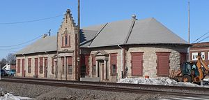 Columbus, Nebraska - Union Pacific depot in Columbus