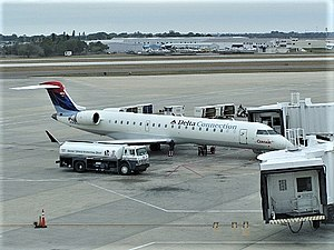 Comair - Comair CRJ700 at Sarasota-Bradenton International Airport