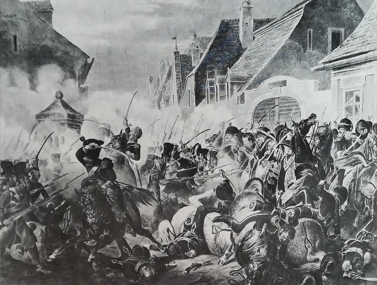 Бой де Ноймаркта, 24 авриль 1809.jpg