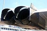 Concorde thrust reverser detail, Intrepid Sea, Air and Space Museum, New York. (32779299538).jpg