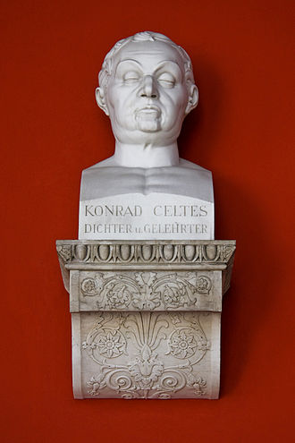 Conrad Celtes - Bust in the Ruhmeshalle, Munich