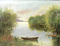 Constantin Aricescu - Peisaj cu lac.jpg