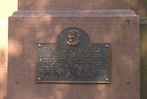 Cornelius Heeney - Plaque on Old Saint Paul's Catholic Church, Brooklyn