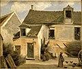 Cour d'une maison de paysans aux environs de Paris.jpg
