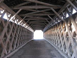 Covered Bridge (Cedarburg, Wisconsin) - Interior