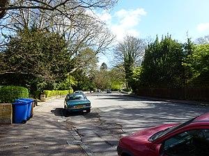 Sydenham Hill - Image: Crescent Wood Road, Sydenham, 2013