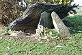 Cromlech Caer-dyni Burial Chamber - geograph.org.uk - 713416.jpg