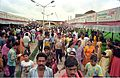 Crowd - Dinosaurs Alive Exhibition - Science City - Calcutta 1995-07-31 368.JPG