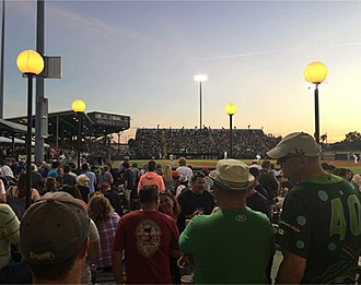 Daytona Tortugas - Image: Crowd media wall