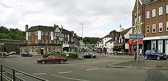 Tandridge District - Caterham, the largest town in Tandridge