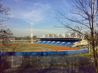 Crystal Palace National Sports Centre - Image: Crystal Palace athletics stadium