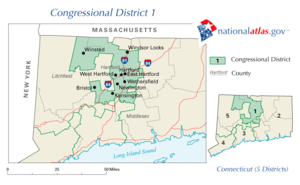United States House of Representatives elections in Connecticut, 2008 - Image: Ct 01 109