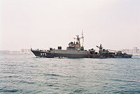 KRI Cut Nyak Dien, Parchim Class merupakan kapal pemukul dengan armada terbesar di TNI AL.